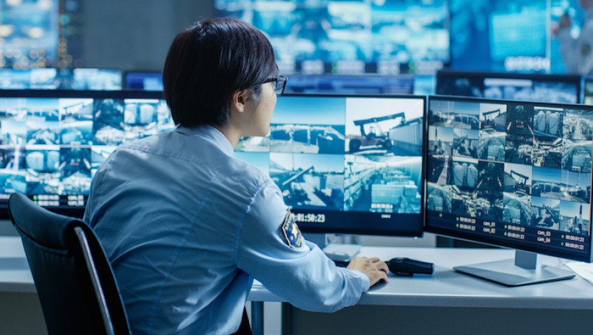 Real-time security surveillance – NOT ON RECORD ONLY